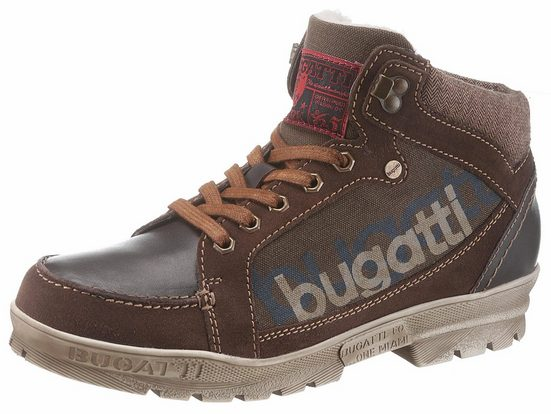 Bugatti Winter Boots, With Rugged Outsole