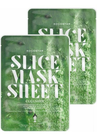 "Gesichtsmasken-Set ""Slice Mask Sh..."