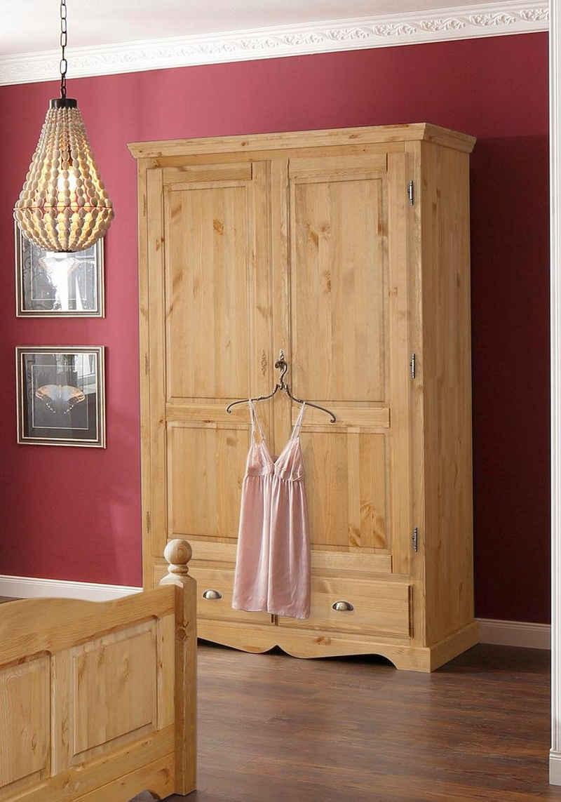 Home affaire Kleiderschrank »Teo« in vier verschiedenen Breiten und zwei unterschiedlichen Farben