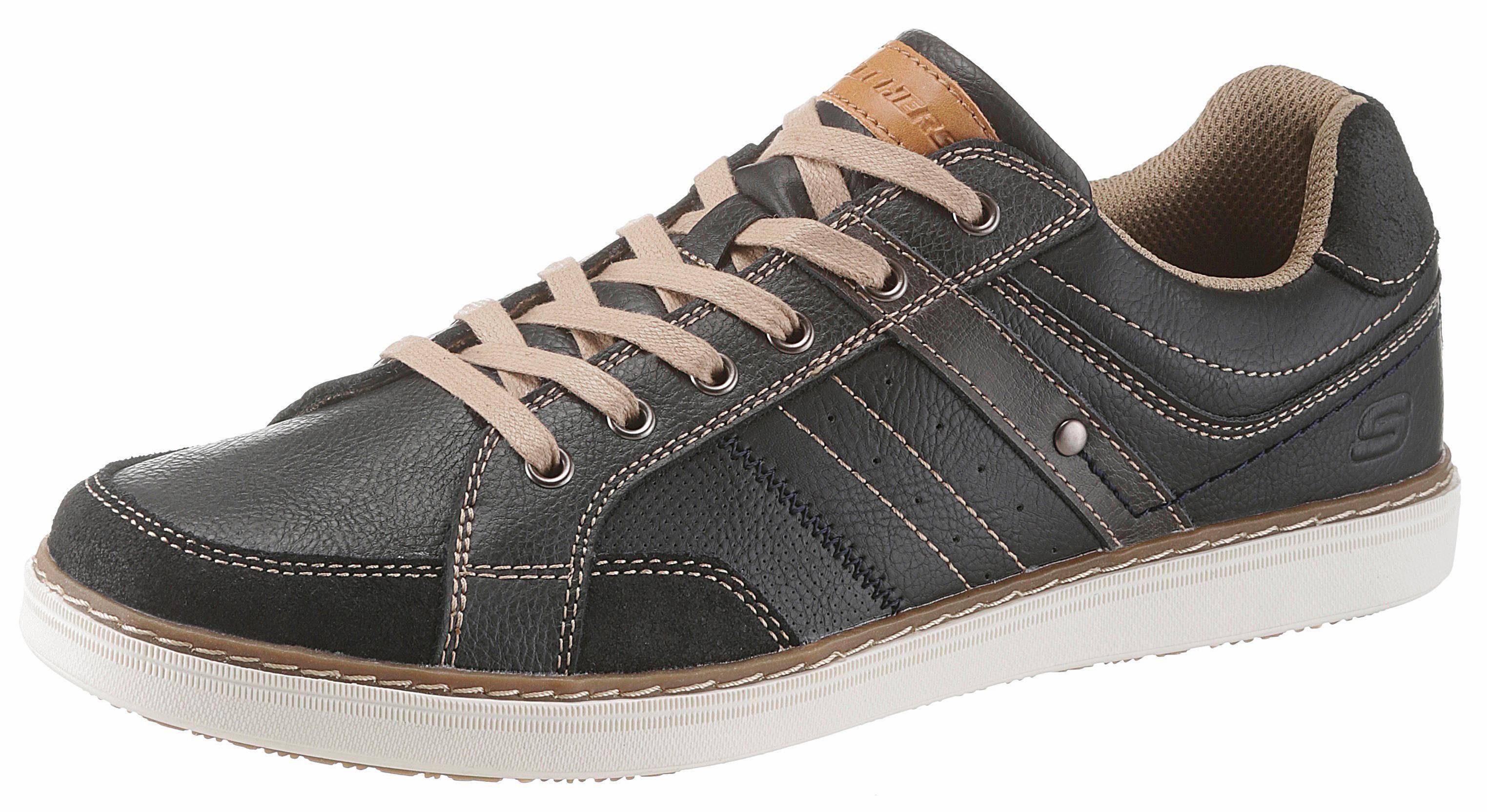 Skechers Lanson-Torben Sneaker, mit stylischen Ziernähten online kaufen  schwarz