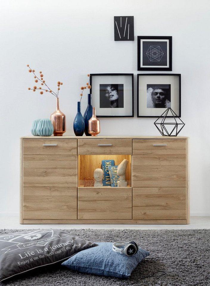 Sideboard Siero Breite 190 Cm Mit Abgerundeten Ecken Online