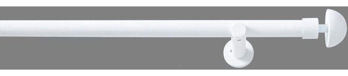 Vorhangstange, good life, »Redondo«, 1-läufig im Fixmaß ø 20 mm | Heimtextilien > Gardinen und Vorhänge > Gardinenstangen | Metall - Kunststoff | Good Life