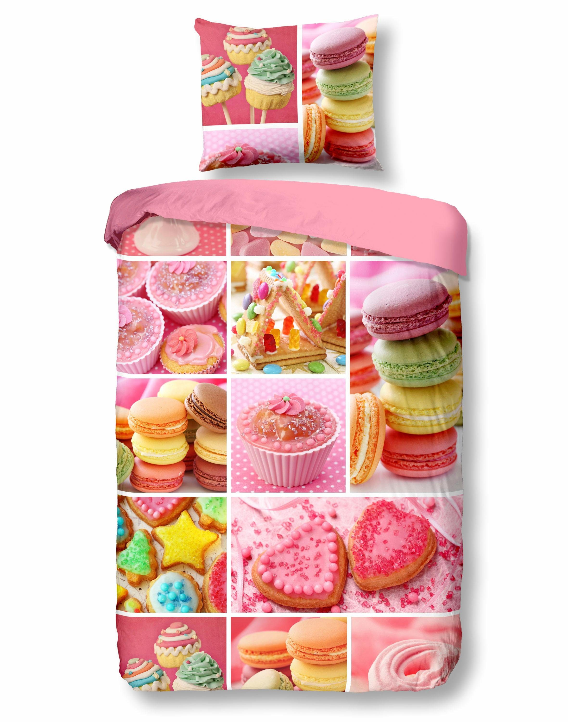 Kinderbettwäsche »Sweet«, good morning, mit süßen Motiv