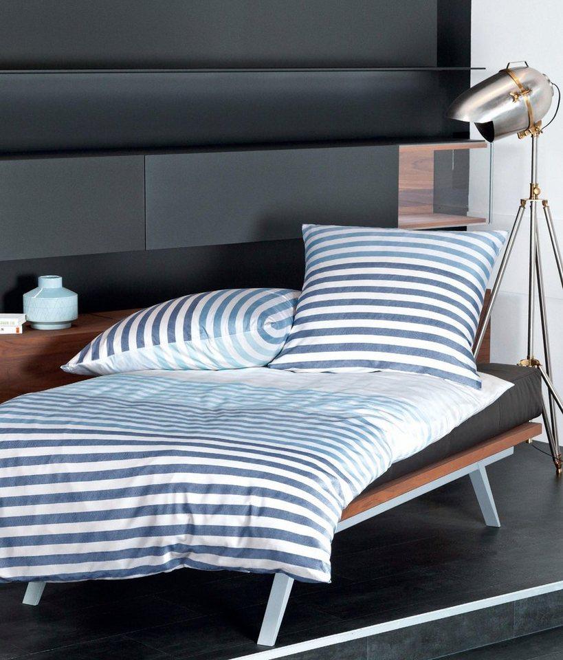 bettw sche j d 87030 janine mit grafischem muster. Black Bedroom Furniture Sets. Home Design Ideas