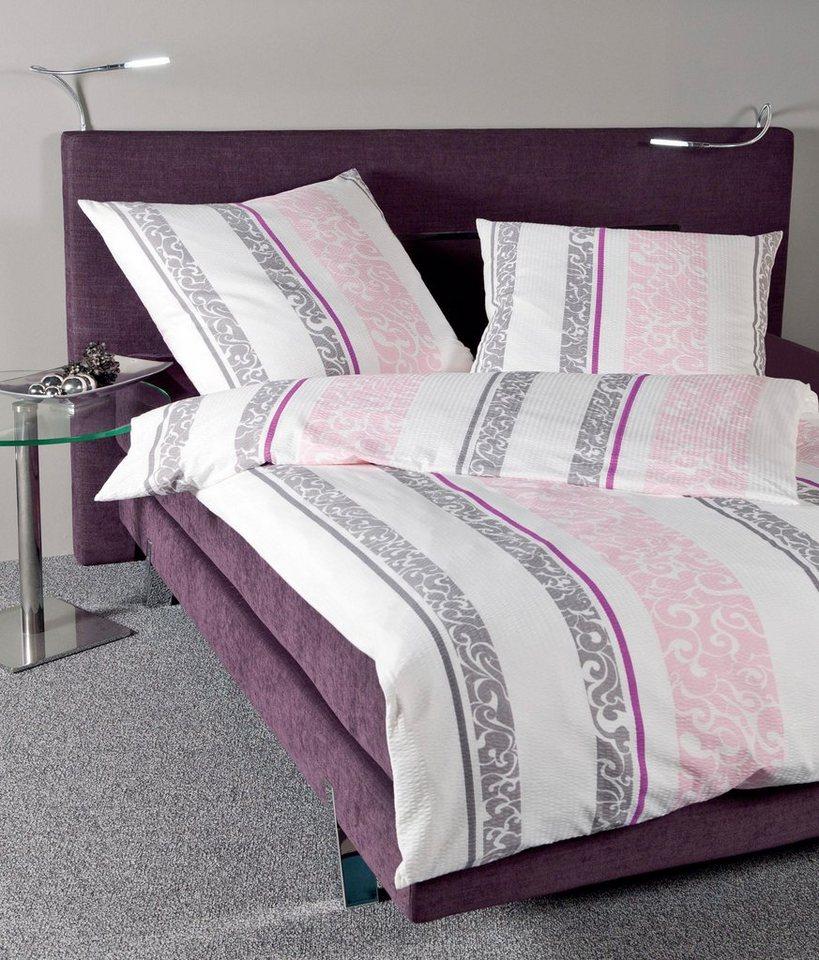 bettw sche taygo janine mit vertikalen streifen online kaufen otto. Black Bedroom Furniture Sets. Home Design Ideas