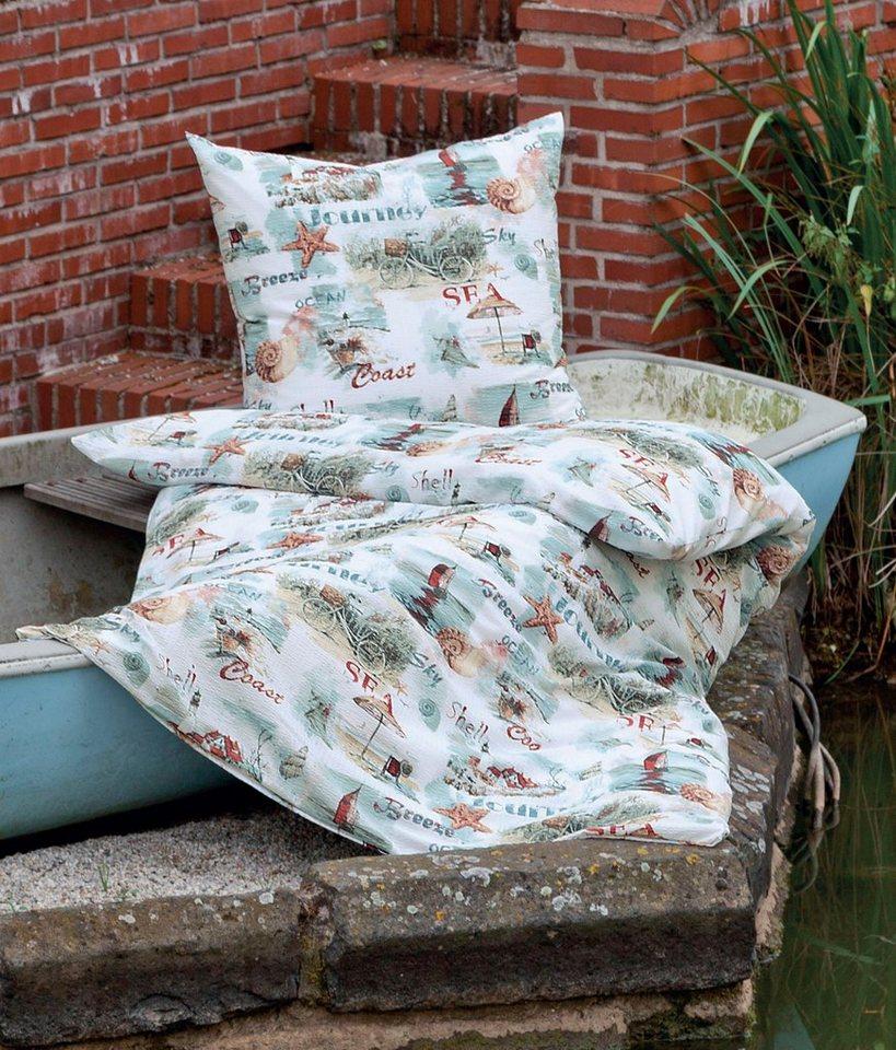 bettw sche journey janine mit tollen motiven und schriftz gen online kaufen otto. Black Bedroom Furniture Sets. Home Design Ideas
