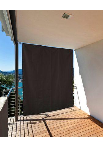 HECHT INTERNATIONAL HECHT Balkono sienelė juoda spalva LxB...