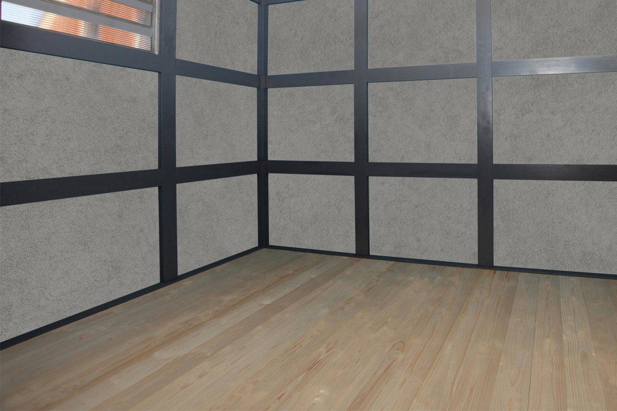 SKANHOLZ Fußboden für Gartenhäuser »CrossCube«, BxT: 337x253 cm, 19 mm stark