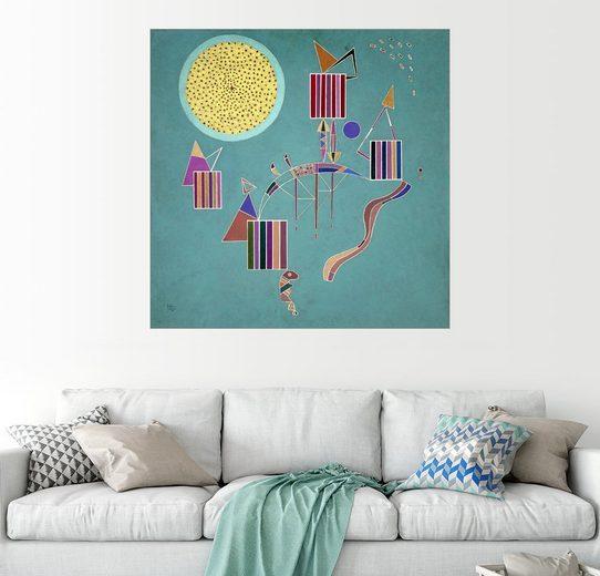 Posterlounge Wandbild - Wassily Kandinsky »Intime Nachricht«