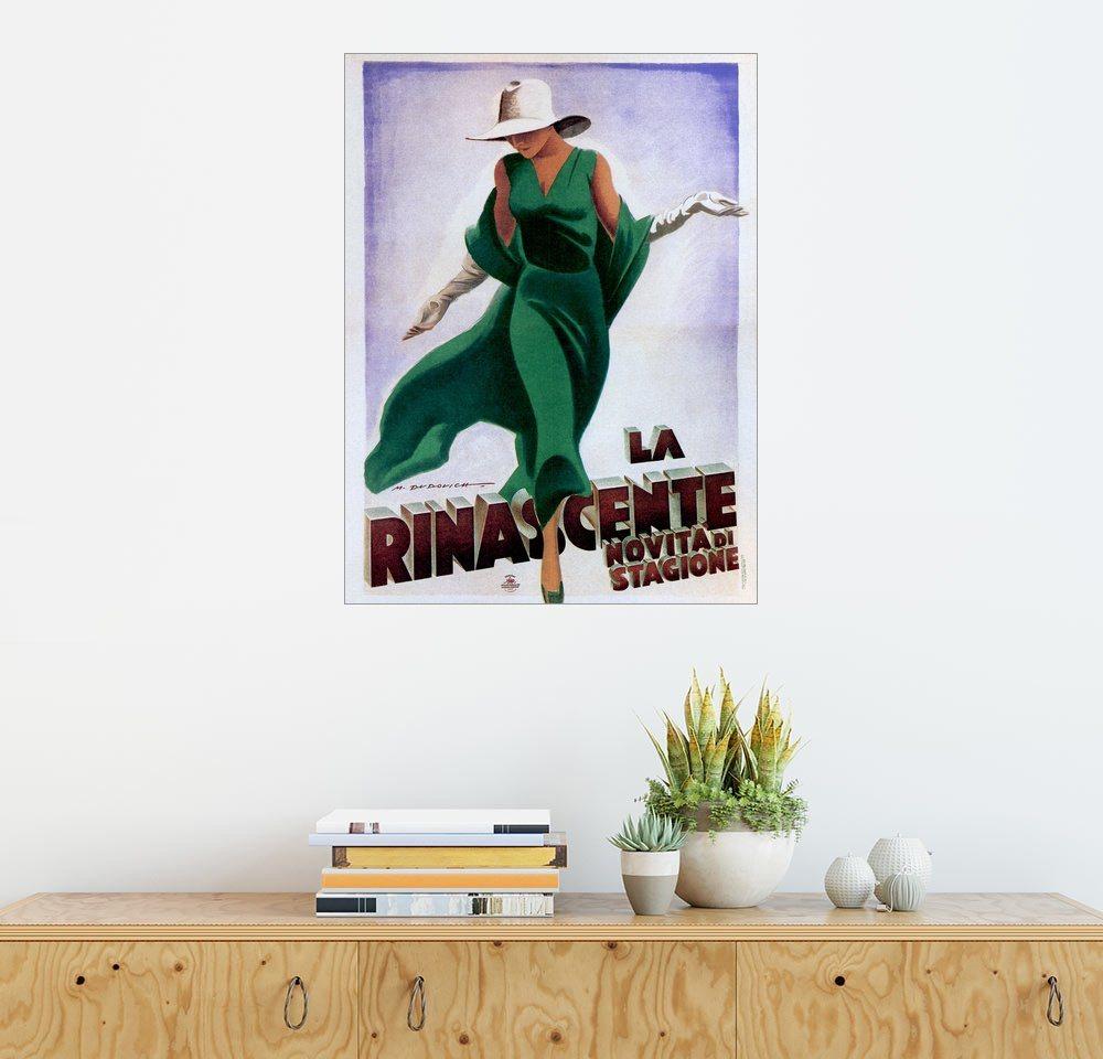posterlounge wandbild marcello dudovich la rinascente
