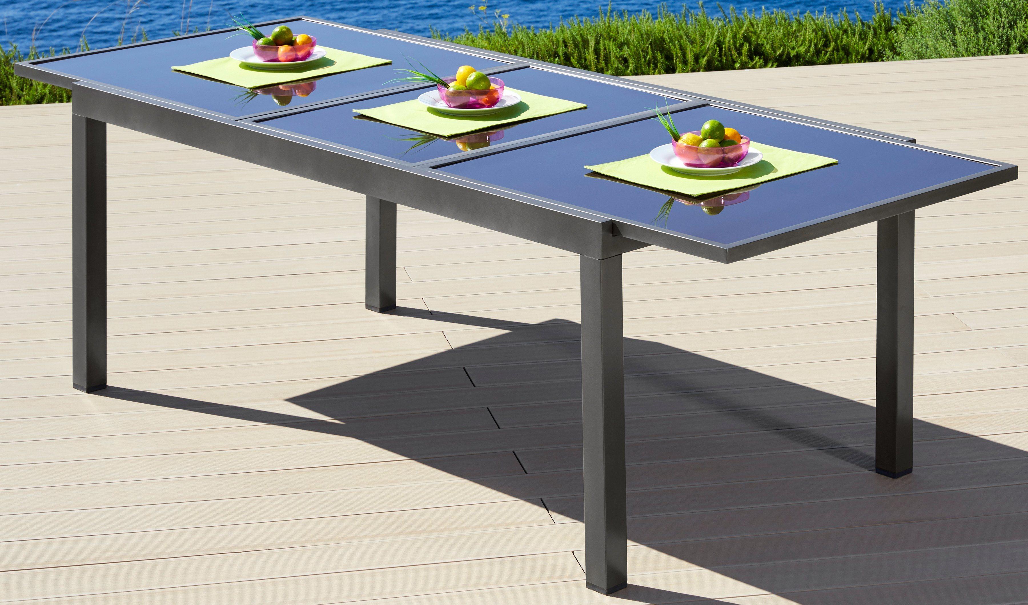 Gartentisch ausziehbar preisvergleich die besten for Gartentisch marmor