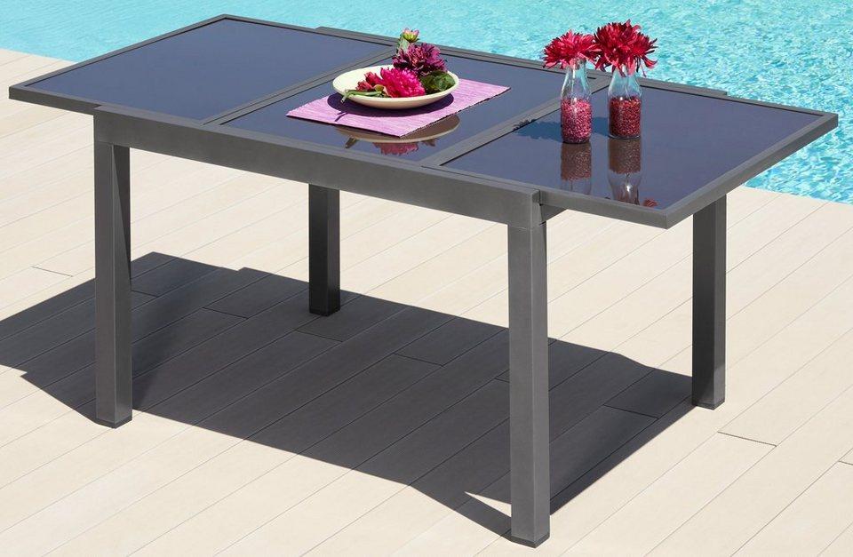 Merxx Gartentisch Amalfi Aluminium Ausziehbar Otto
