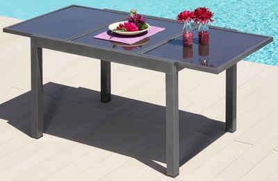 Gartentisch »Amalfi«, Aluminium, Ausziehbar