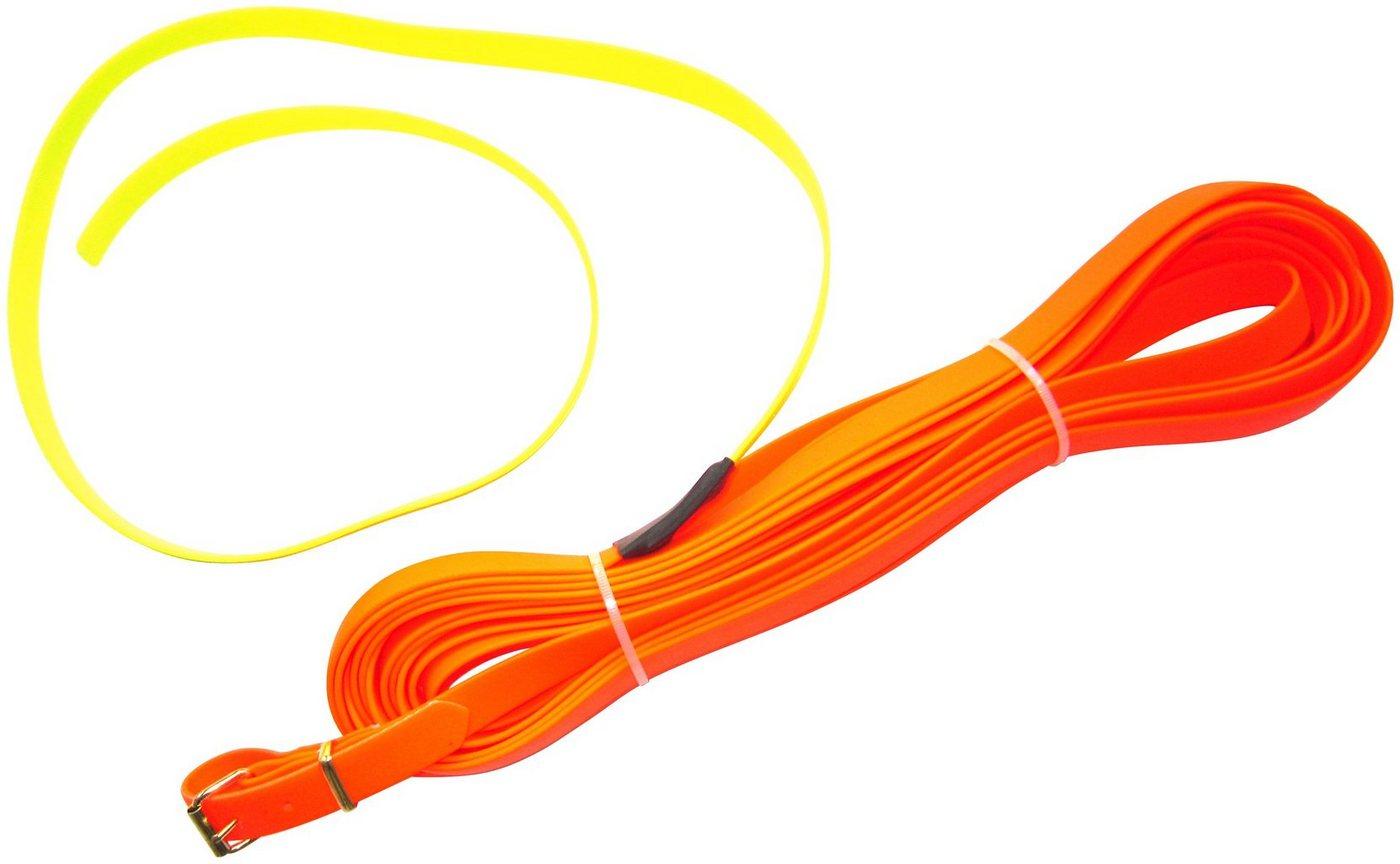 HEIM Schleppleine »Biothane«, neonorange, B: 0,9 cm, in 3 Längen - Preisvergleich
