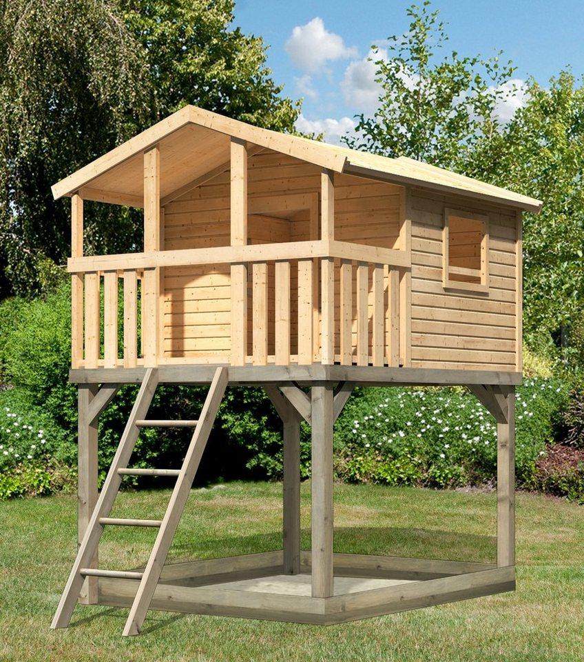 KARIBU Spielturm  Unfug 1 , BxT: 198x236 cm, mit Sandkasten online kaufen
