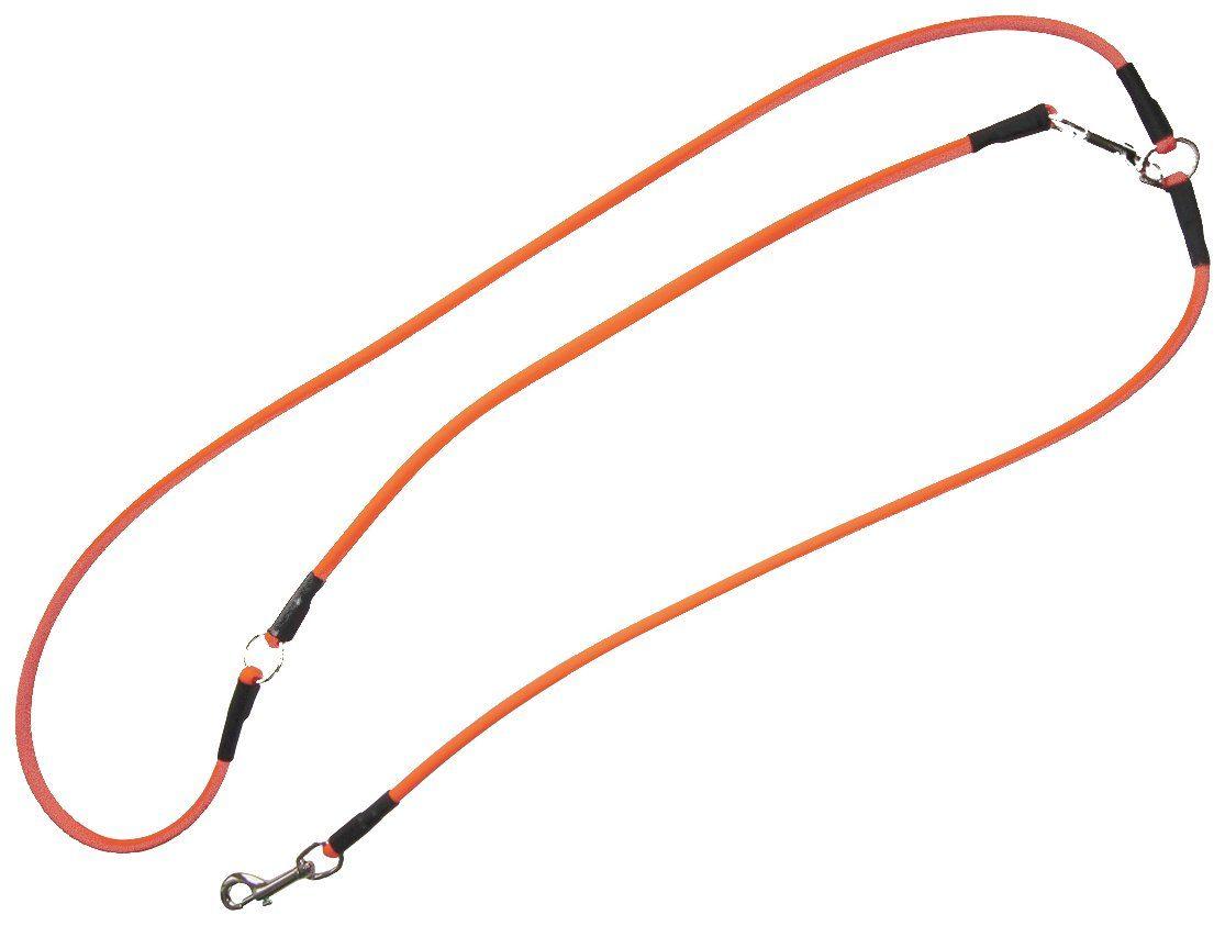 HEIM Hundeleine »Biothane«, orange, Ø: 1 cm, L: 2,5 m