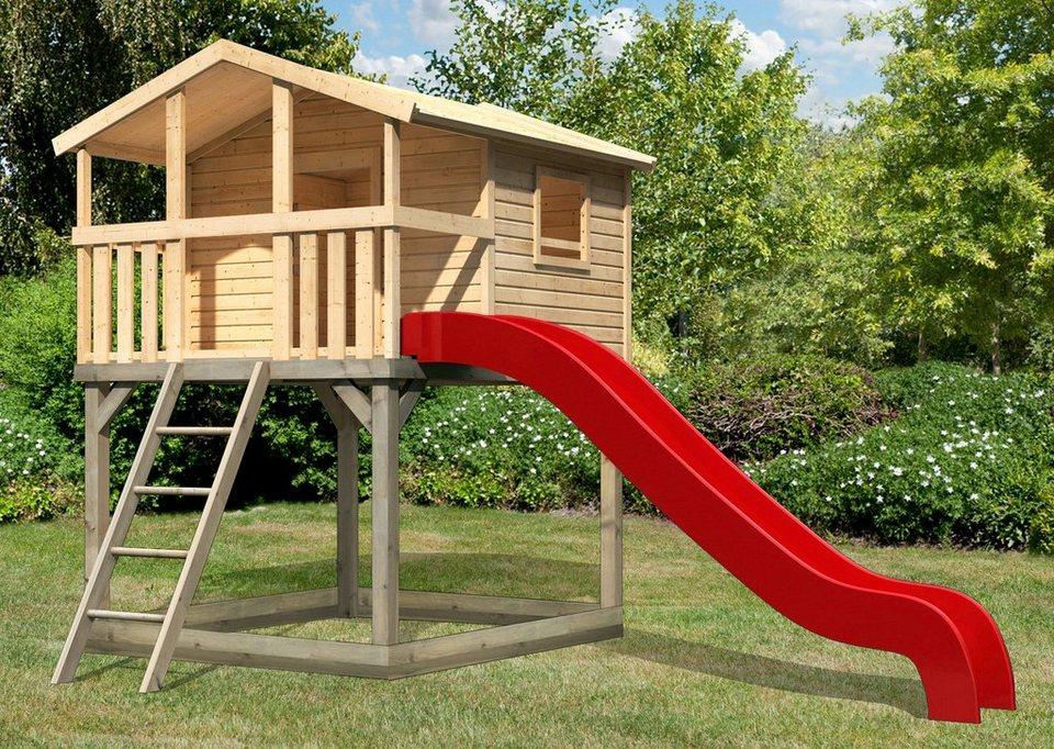 KARIBU Spielturm  mit Unfug 3 , BxT: 198x236 cm, mit  Sandkasten, Rutsche online kaufen c770d9