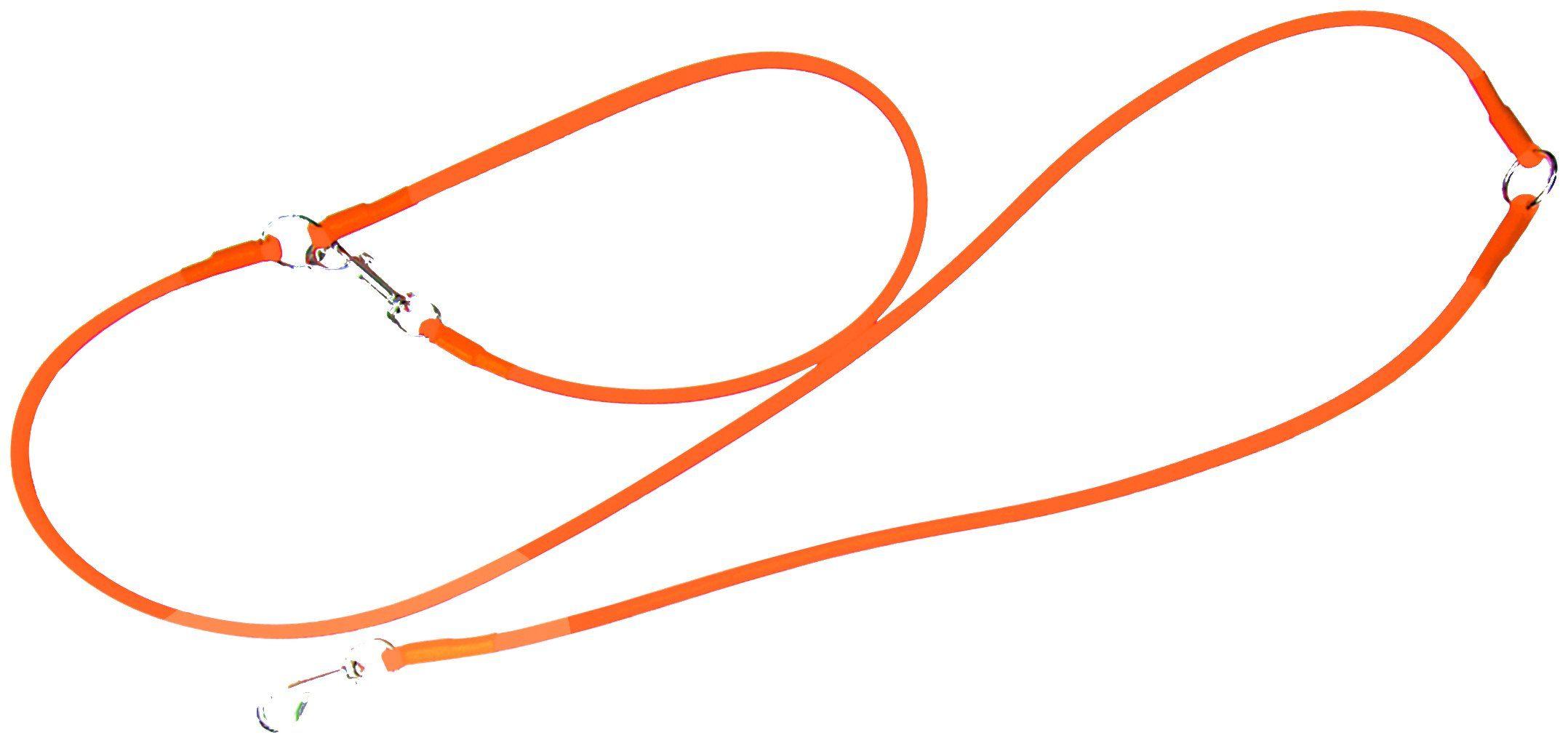 HEIM Retrieverleine »Biothane«, orange, Ø: 1 cm, L: 2,5 m