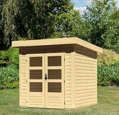 Karibu Holz Gartenhaus Online Kaufen Otto