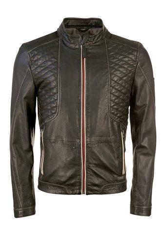 Байкерские куртка с Kontrast-Reiß...