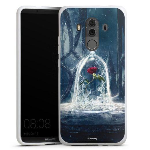 DeinDesign Handyhülle »Rose under glass movie« Huawei Mate 10 Pro, Hülle Die Schöne und das Biest Disney Princess