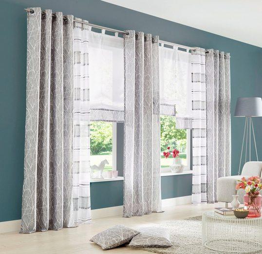 Gardine »Camposa«, my home, Ösen (2 Stück), Vorhang, Fertiggardine, transparent