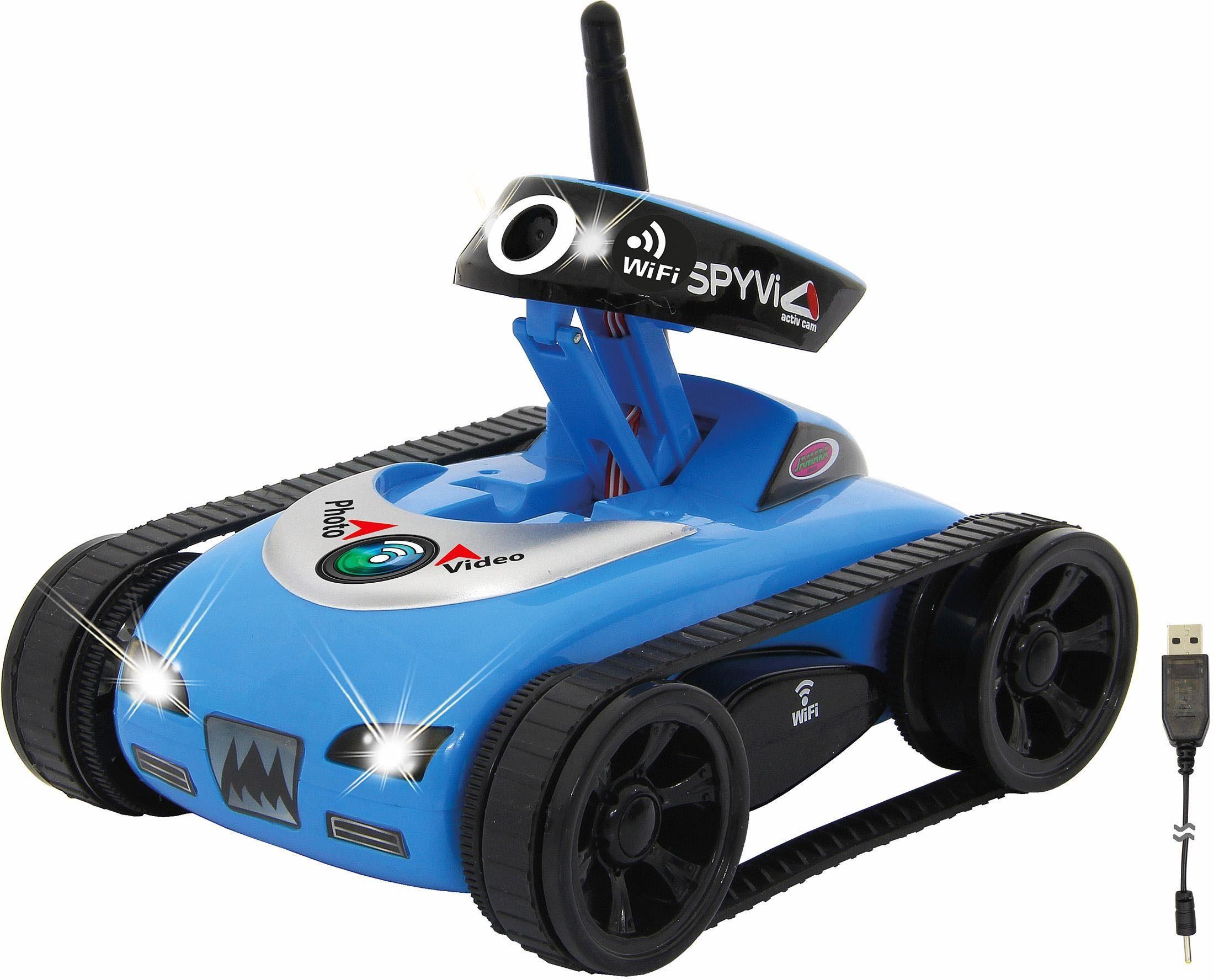 JAMARA App gesteuertes Fahrzeug mit Kamera, »SpyVi Wifi«