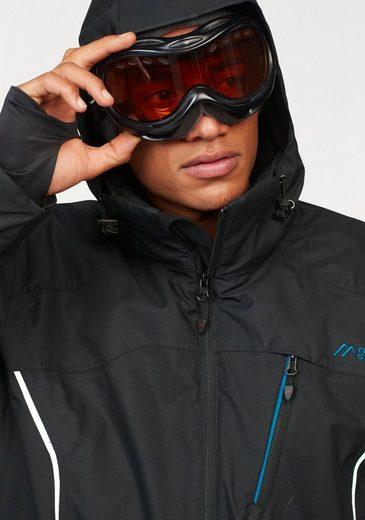 Maier Sports Skijacke, Wasser und Winddicht, Atmungsaktiv