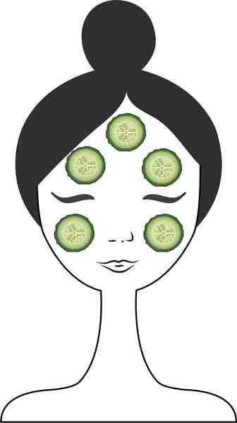 KOCOSTAR Gesichtsmasken-Set »Slice Mask Sheet Cucumber«, feuchtigkeitsspend und beruhigend