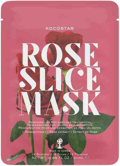 KOCOSTAR Gesichtsmasken-Set »Rose Slice Mask«, 2-tlg., regenierend