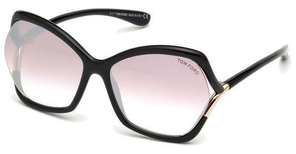 Tom Ford Damen Sonnenbrille » FT0579«, schwarz, 01B - schwarz/grau