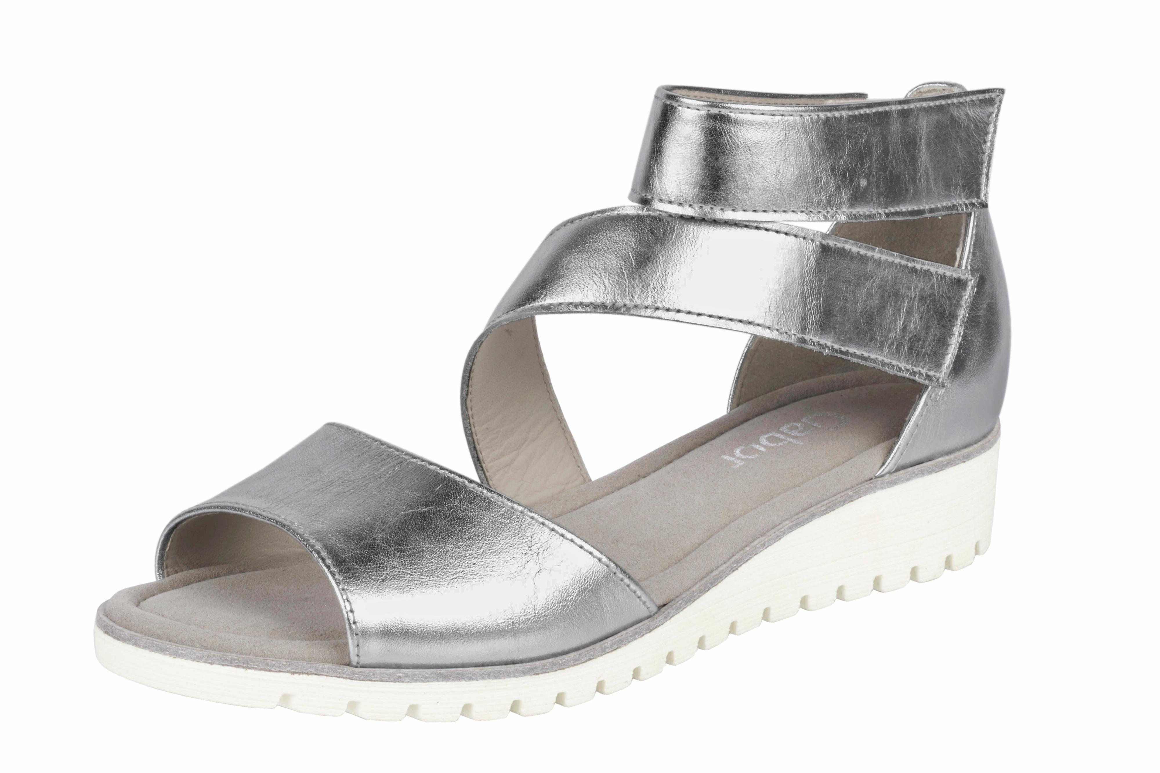 GABOR Sandalette mit Glanzeffekt online kaufen  silberfarben