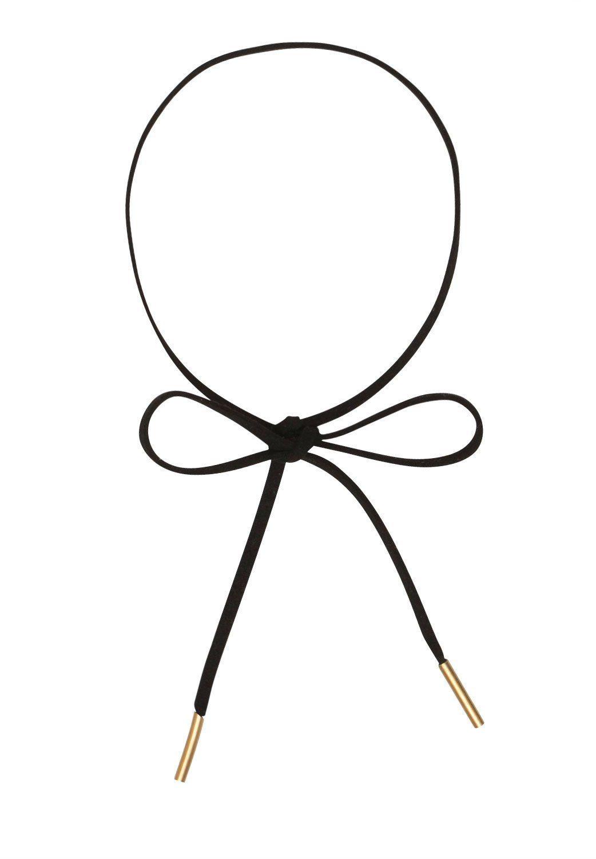 HALLHUBER Choker-Halsband in Lederoptik