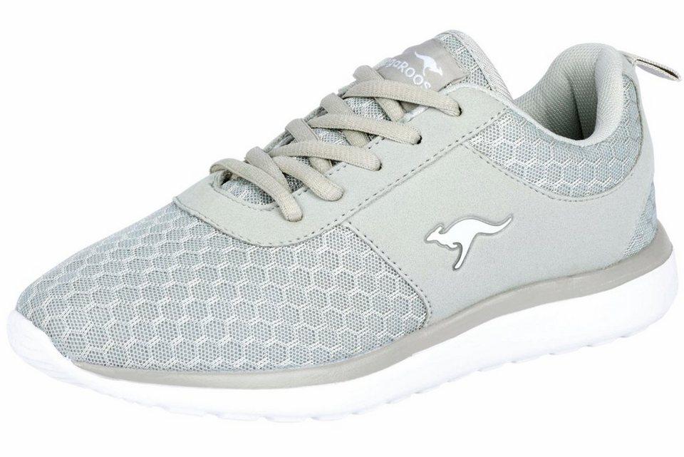 9df45c121626bc KangaROOS Sneaker mit Mesh-Ware