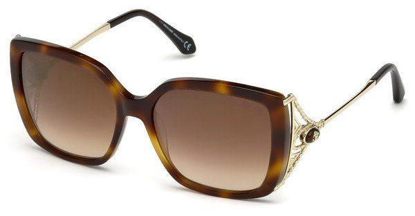 roberto cavalli Roberto Cavalli Damen Sonnenbrille » RC1050«, braun, 52G - braun/braun