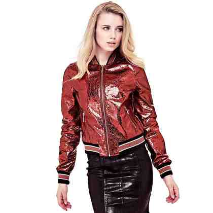 Guess BOMBERJACKE METALLIC-OPTIK