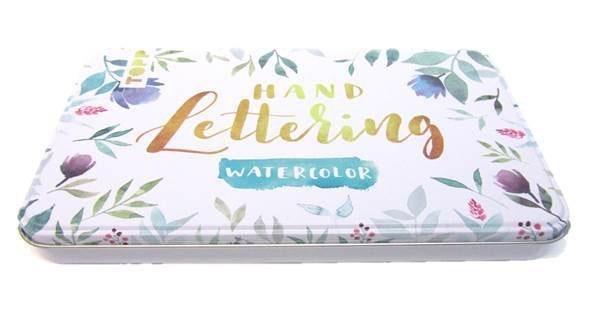 """Topp Handlettering-Set """"Watercolor"""" in praktischer Dose online kaufen"""
