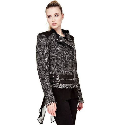 Guess JACKE TWEED-OPTIK GÜRTEL