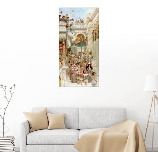 Posterlounge Wandbild - Lawrence Alma-Tadema »Frühling«
