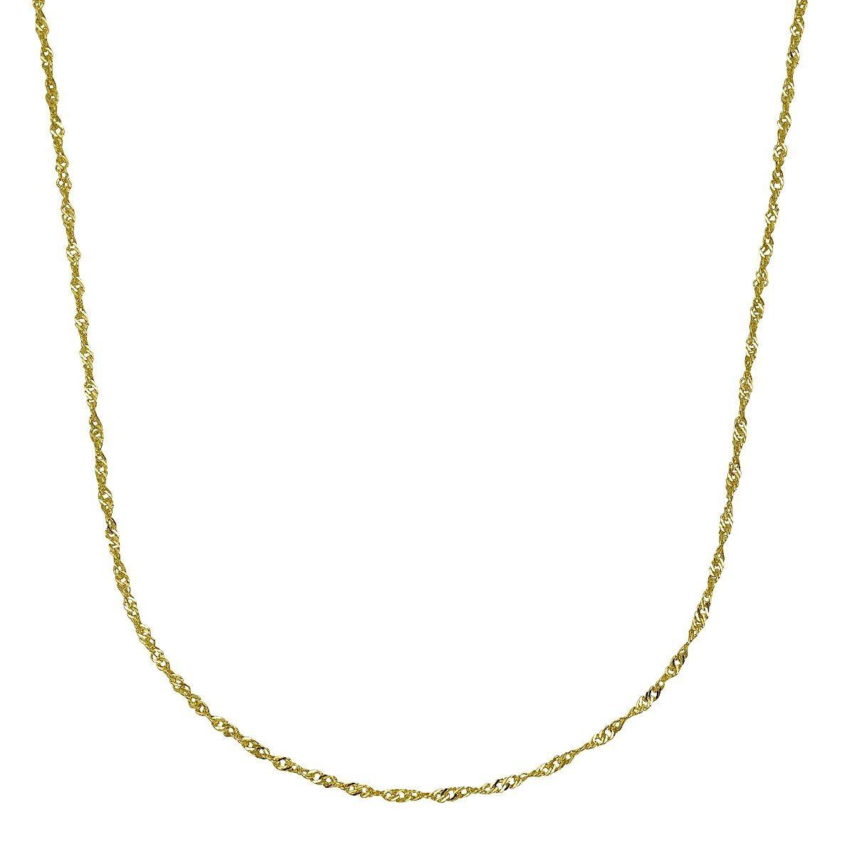 Firetti Collier »585/- Gelbgold Singapurkette 45cm«
