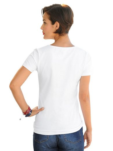 Alba Moda Shirt mit Ankermotiv