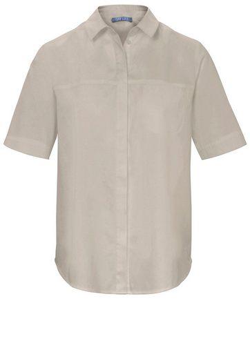 DAY.LIKE Klassische Bluse mit 1/2 Arm, Brusttasche