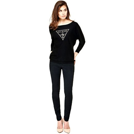 Guess Sweater Logo Triangle Applications