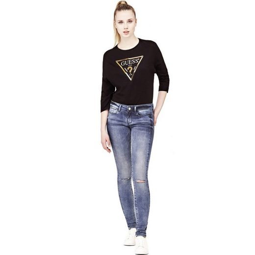 Guess JEGGINGS RISSDETAILS