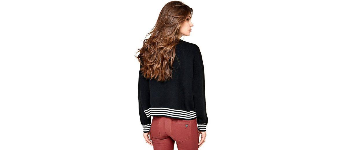 Perfekt Günstiger Preis Guess PULLOVER STICKEREI VORN Super Angebote Online Einkaufen Mode Online-Verkauf Rabatt Shop-Angebot UuBvO02