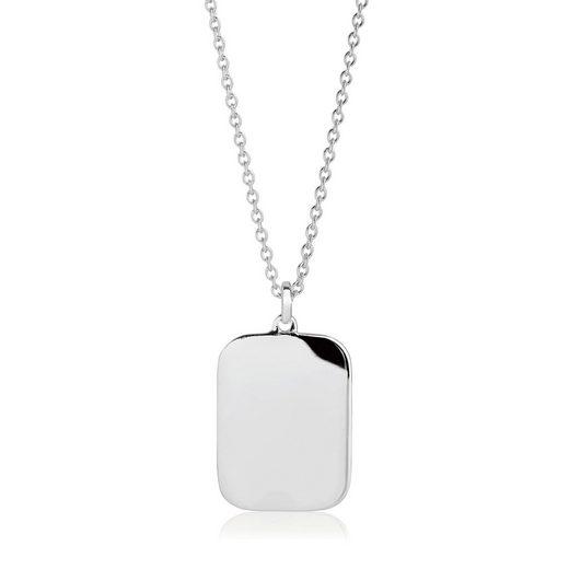 Sif Jakobs Jewellery Halskette mit schlichtem Anhänger »FOLLINA PIANURA QUADRATO PENDANT«