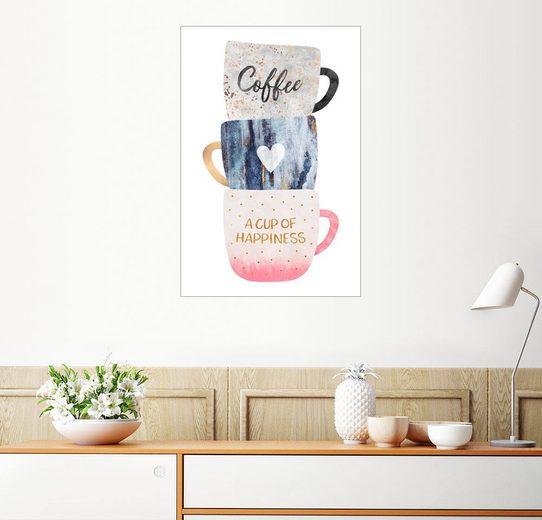 Posterlounge Wandbild - Elisabeth Fredriksson »A cup of happiness«