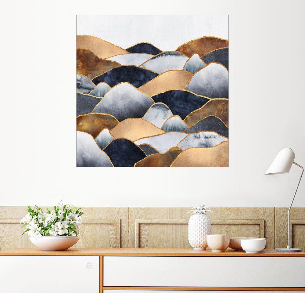 Posterlounge Wandbild - Elisabeth Fredriksson »Hills 2«