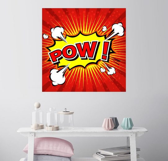 Posterlounge Wandbild - Kidz Collection »POW!«