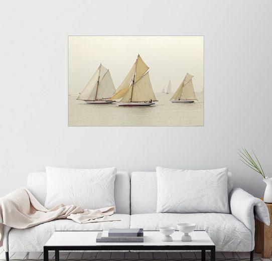 Posterlounge Wandbild - Patrick Swan »Segelregatta«